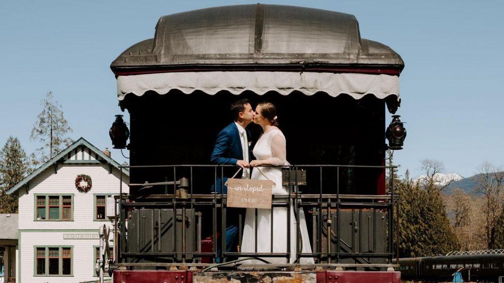 West Coast Railway Heritage Park Wedding