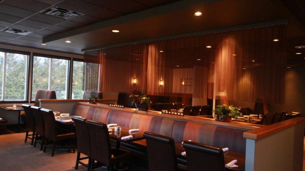 Mountain Retreat onsite restaurant